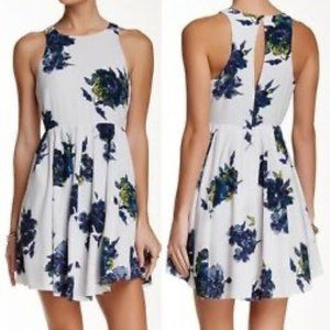 Free People White Floral Sundress